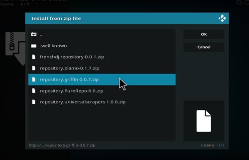 How to Install Aragon Live Kodi Add-on 18 Leia step 12