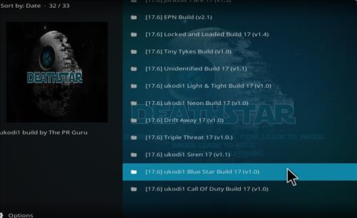 How to Install Blue Star Kodi Build with Screenshots step 24