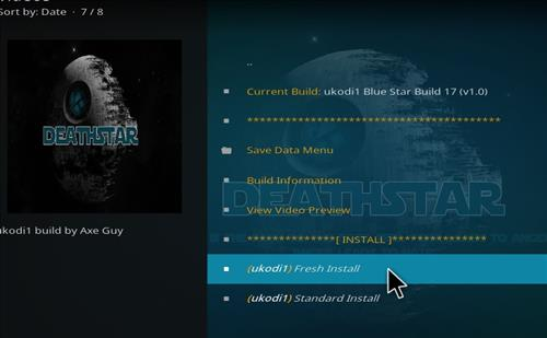 How to Install Blue Star Kodi Build with Screenshots step 26