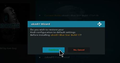 How to Install Blue Star Kodi Build with Screenshots step 28