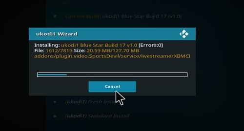 How to Install Blue Star Kodi Build with Screenshots step 29
