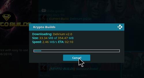 How to Install Delirium Kodi 18 Leia Build step 20