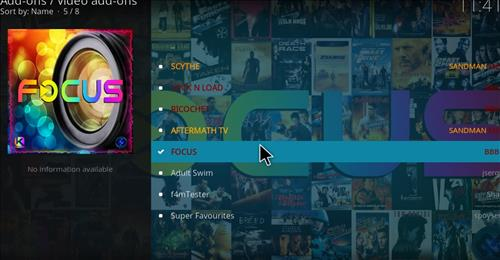 How to Install Focus Kodi Add-on 18 Leia step 17