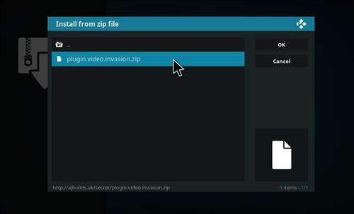 How to Install Invasion Kodi Add-on with Screenshots step 12