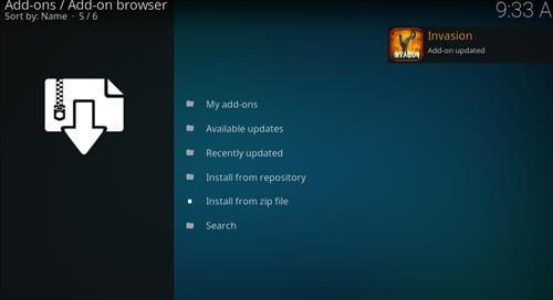 How to Install Invasion Kodi Add-on with Screenshots step 13