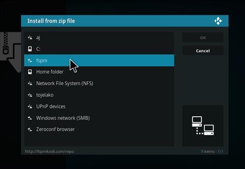 How to Install Legendary Kodi Add-on with Screenshots step 11