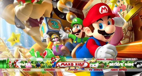 How to Install Max'd Mario Kids Kodi Build 18 Leia pic 1