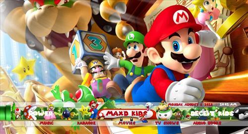 How to Install Max'd Mario Kids Kodi Build 18 Leia pic 1