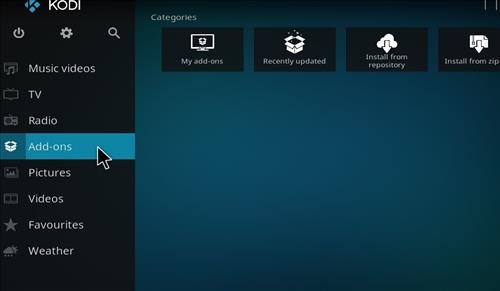 How to Install Maze Family Kodi Build 18 Liea step 8
