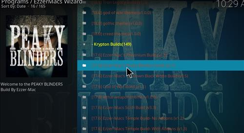 How to Install Peaky Blinders Kodi Build with Screenshots step 23