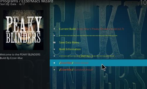 How to Install Peaky Blinders Kodi Build with Screenshots step 24