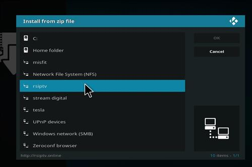 How to Install RSIPTV Kodi Add-on with Screenshots step 11