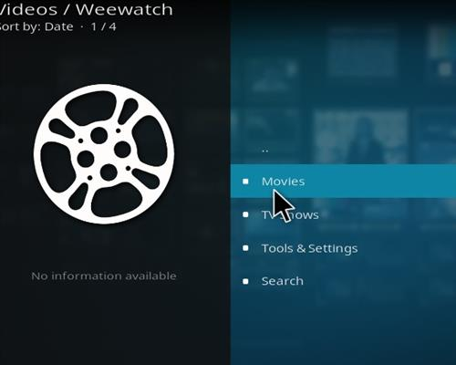 How to Install Weewatch Kodi Add-on 18 Leia pic 2