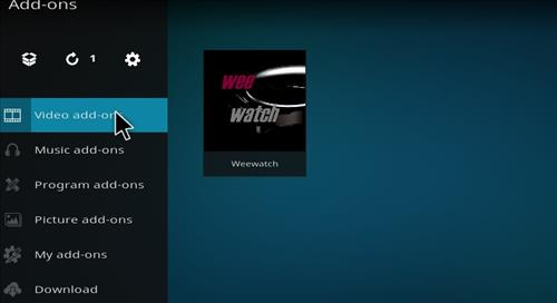 How to Install Weewatch Kodi Add-on 18 Leia step 21