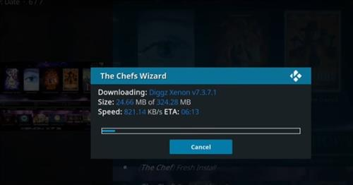 How to Install Xenon Kodi Build with Screenshot step 20