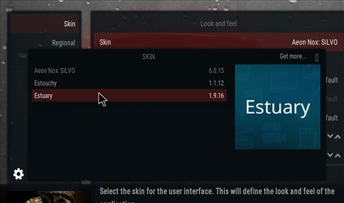 How to change the Skin back to Default Estuary knightfall step 4