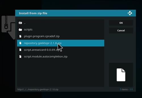 How to Install Alliance Kodi Add-on with Screenshots step 12