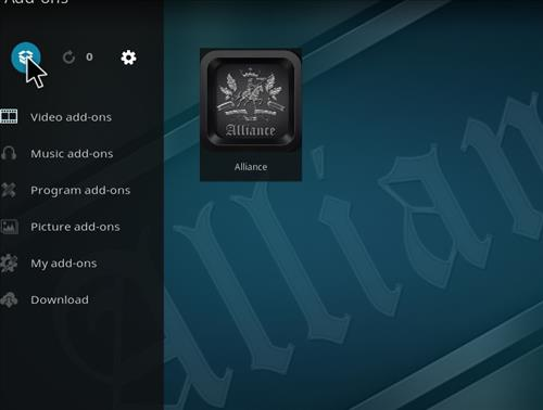 How to Install Alliance Kodi Add-on with Screenshots step 9