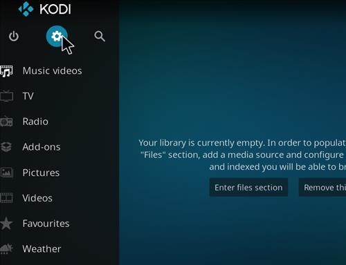 How to Install Blackout Lite Kodi Build with Screenshots step 1