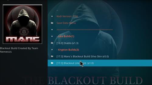 How to Install Blackout Lite Kodi Build with Screenshots step 16