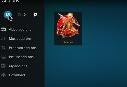 How to Install Cheetara Kodi Add-on with Screenshots step 9