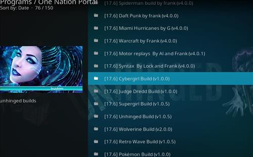 How to Install Cybergirl Kodi Build with Screenshots step 17