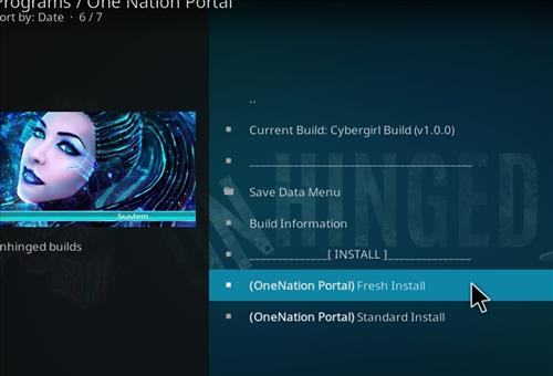 How to Install Cybergirl Kodi Build with Screenshots step 18