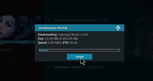 How to Install Cybergirl Kodi Build with Screenshots step 20