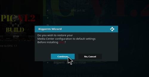 How to Install Epic Kodi Build with Screenshots step 19