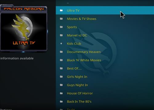 How to Install Falcon Reborn Kodi Add-on with Screenshots pic 2