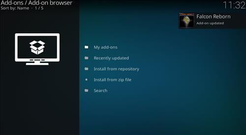 How to Install Falcon Reborn Kodi Add-on with Screenshots step 13