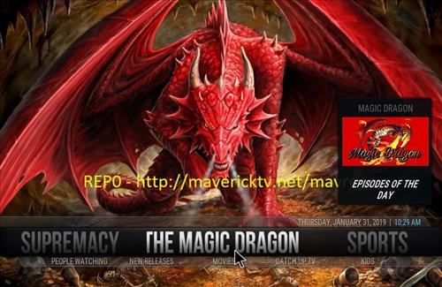 How to Install Magic Dragon Kodi 18 Leia Build pic 1