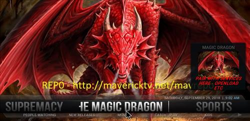 How to Install Magic Dragon Kodi 18 Leia Build pic 1