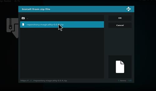 How to Install Magicality Kodi Add-on with Screenshots step 12