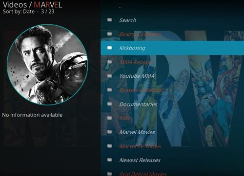 How to Install Marvel Kodi Add-on with Screenshots pic 2