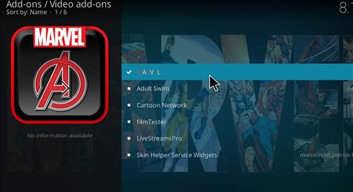 How to Install Marvel Kodi Add-on with Screenshots step 17