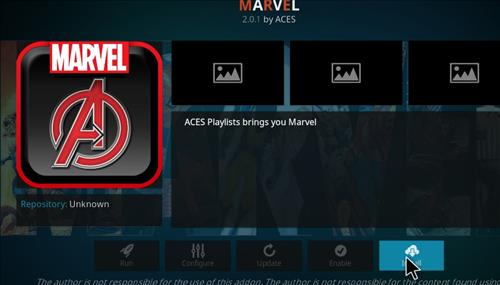 How to Install Marvel Kodi Add-on with Screenshots step 18