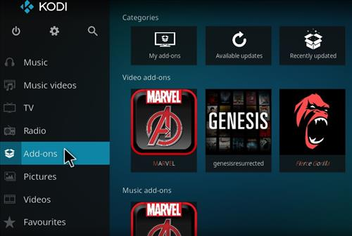How to Install Marvel Kodi Add-on with Screenshots step 8