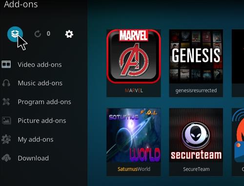 How to Install Marvel Kodi Add-on with Screenshots step 9