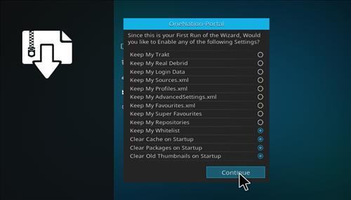 How to Install Meganation Kodi Build 18 Leia step 15