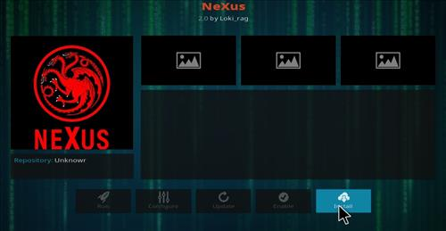 How to Install Nexus Kodi Add-on with Screenshots step 18