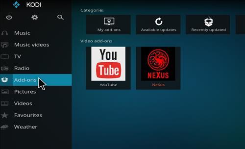 How to Install Nexus Kodi Add-on with Screenshots step 8