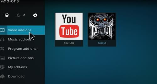 How to Install Tapout Kodi 18 Leia Add-on step 21