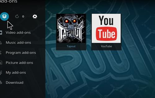 How to Install Tapout Kodi 18 Leia Add-on step 9