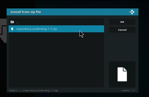 How to Install The Underdog Kodi Add-on with Screenshots step 13