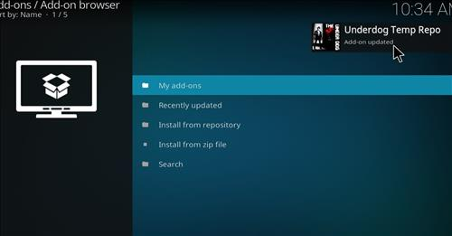 How to Install The Underdog Kodi Add-on with Screenshots step 14