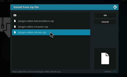 How to Install Ultra TV Kodi Add-on with Screenshots step 12