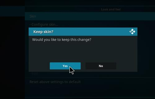 How to change the Skin back to Default Estuary meganation step 5