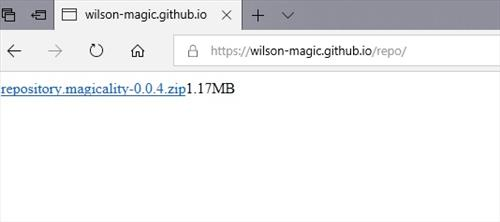 manual and downlaod wilson magic repo step 1