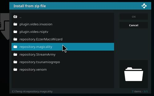 manual and download magicality repo step 5